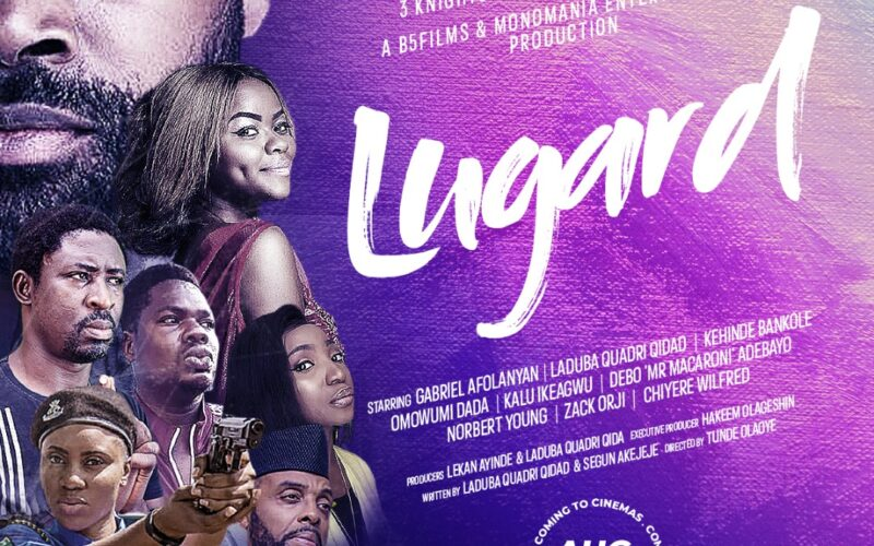 'Lugard,' a new film featuring Gabriel Afolayan, Mr. Macaroni, and Kehinde Bankole is scheduled for an August 2021 release.